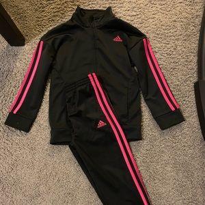 Adidas kids joggers/jacket set